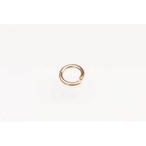 Rolled Gold Jump Ring
