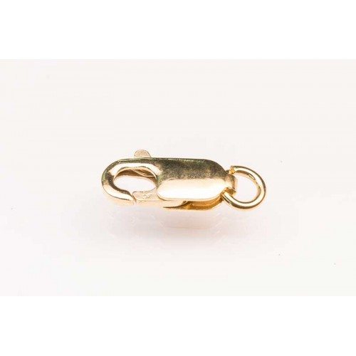 Rolled Gold Parrot Clasp Flat
