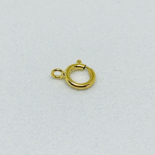 Rolled Gold Bolt Ring Closed
