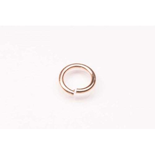 9K Rose Jump Ring