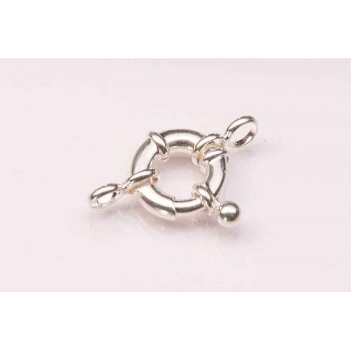 Sterling Silver Bolt Ring Jumbo Fig 8