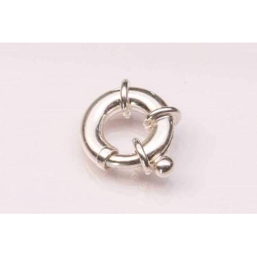 Sterling Silver Bolt Ring Jumbo Plain