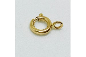 9K Yellow Bolt Ring Closed